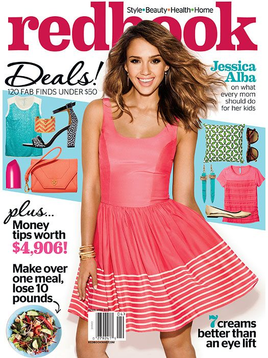 Jessica Alba Redbook Magazine April 2014 http://chicentral.net