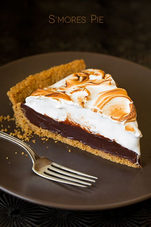 mores Pie | Food | Pinterest