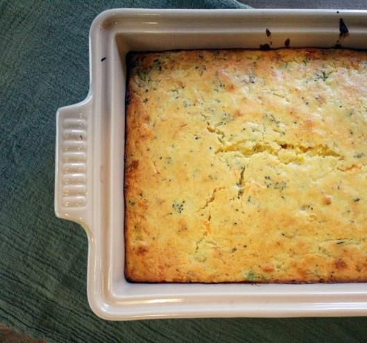 Broccoli Cheddar Cornbread | Gotta be a good wife... | Pinterest