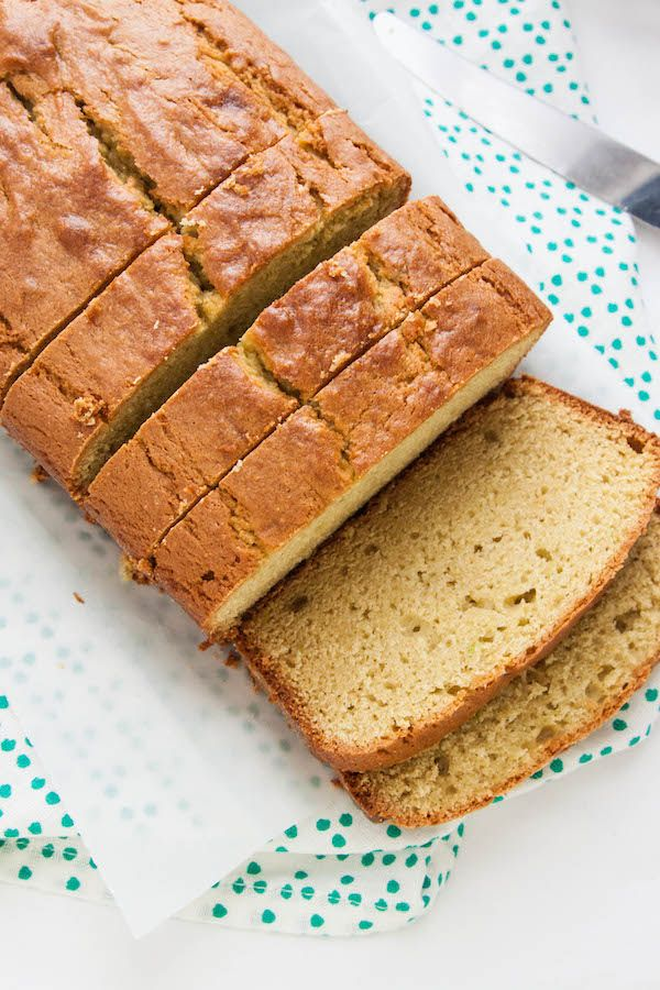 Avocado Pound Cake Recipe - The Corner Kitchen