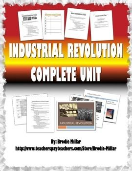 Industrial Revolution Essay Questions