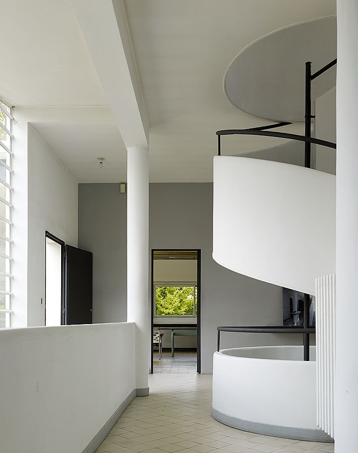 Villa savoye le corbusier le corbusier architecture pinterest - Le corbusier villa savoye ...