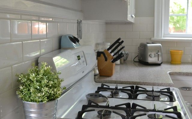 diy subway tile backsplash rethinking kitchen space pinterest
