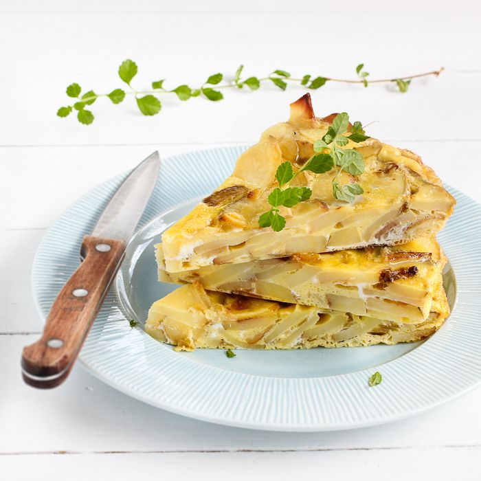 Tortilla Española.. My mom used to make this for me when I was little