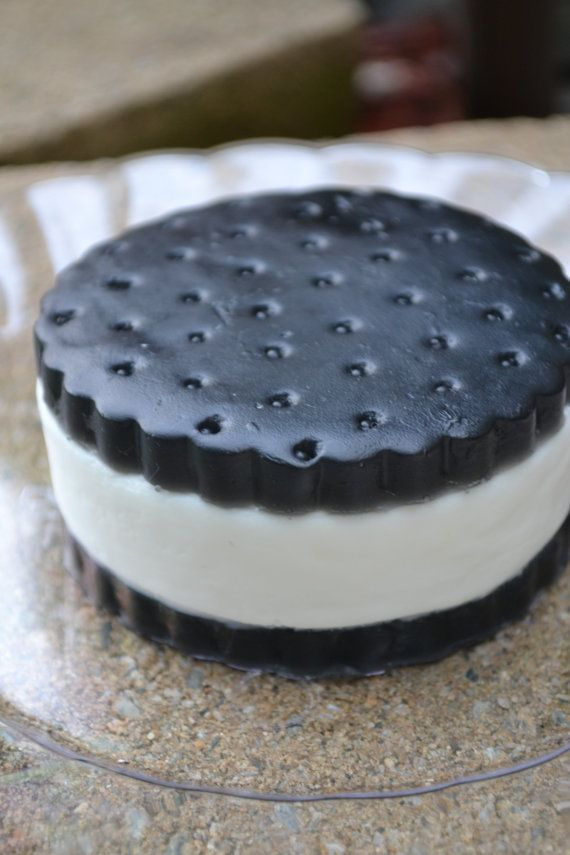 Ice Cream Soap Classic Ice Cream Cookie Sandwich by ajsweetsoap, $6.75