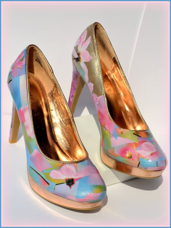 Custom Women s Shoes Made to Order Shoes Size10 by PricklyPaw, $56.50