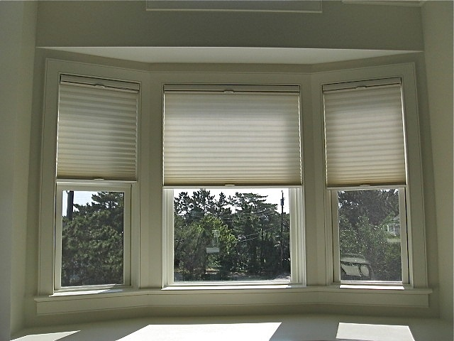 Bay window shades our home pinterest for Blind ideas for bay windows
