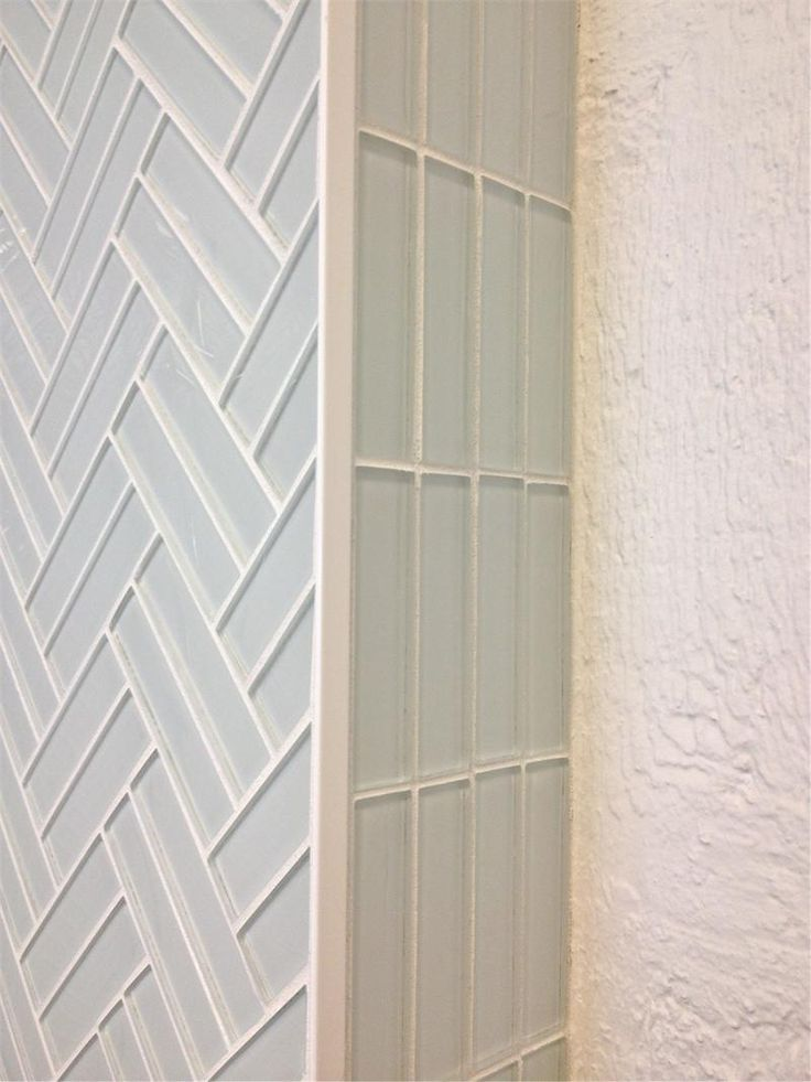 Subway tile in Cloud white modern weave pattern for kitchen backsplash or bathroom tile ideas