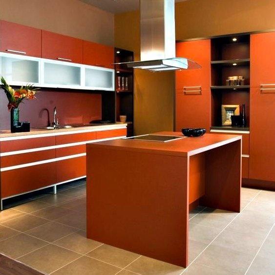 Modern Orange Cabinets Kitchen  Kitchen Orange Kitchen  Narancss?