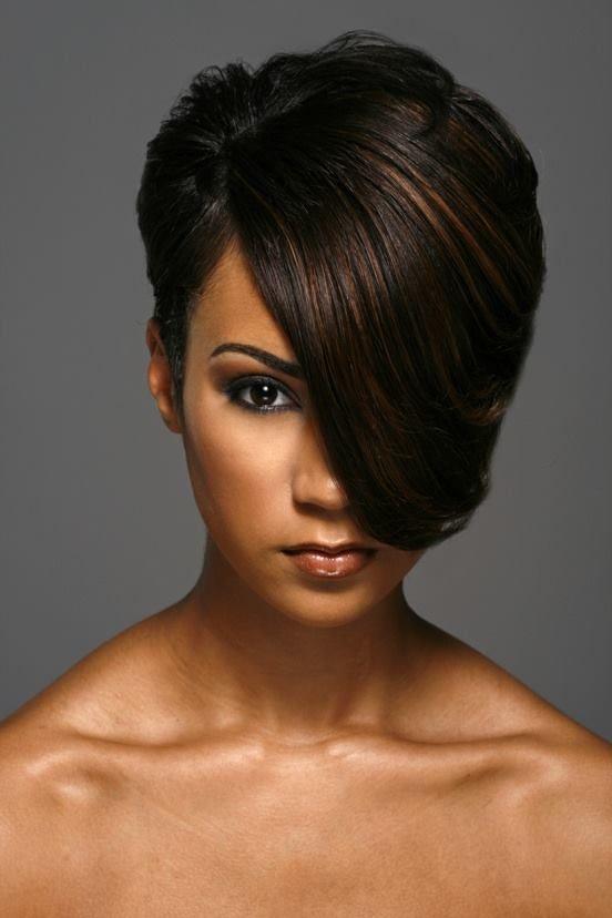 Swooped bang \o/ Tress Free \o/ Hairstyles ... Pinterest