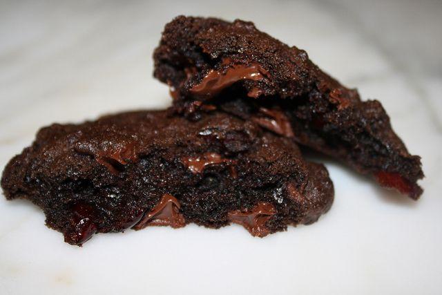 Heather Christo: Dark Chocolate & Cranberry Cookies