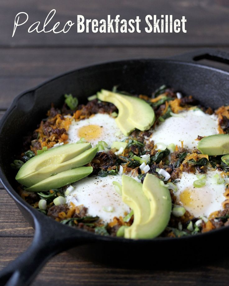 Paleo Breakfast Skillet | Breakfast Brilliance | Pinterest
