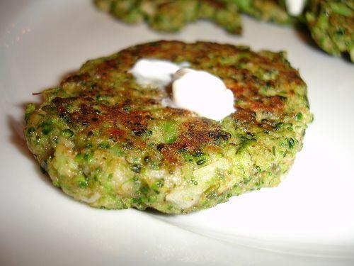 Broccoli pancakes | Yummy | Pinterest