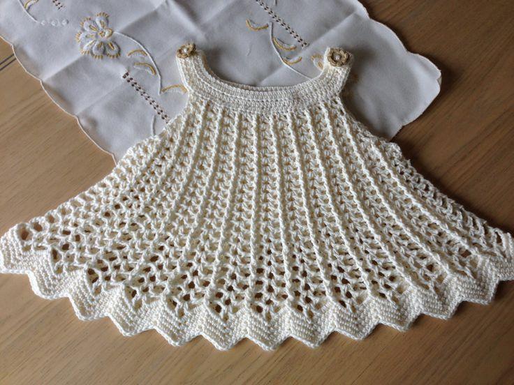 Crochet Pattern Baby Girl Dress : Crochet Dress Patterns For Kids Our Future! Pinterest