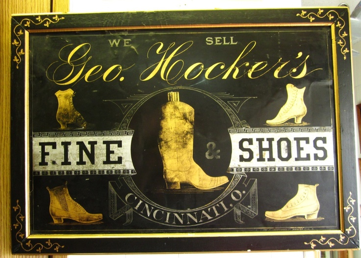 Old Shoe Store Signs