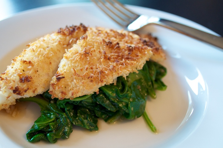 Coconut Crusted Tilapia | YUMMY | Pinterest