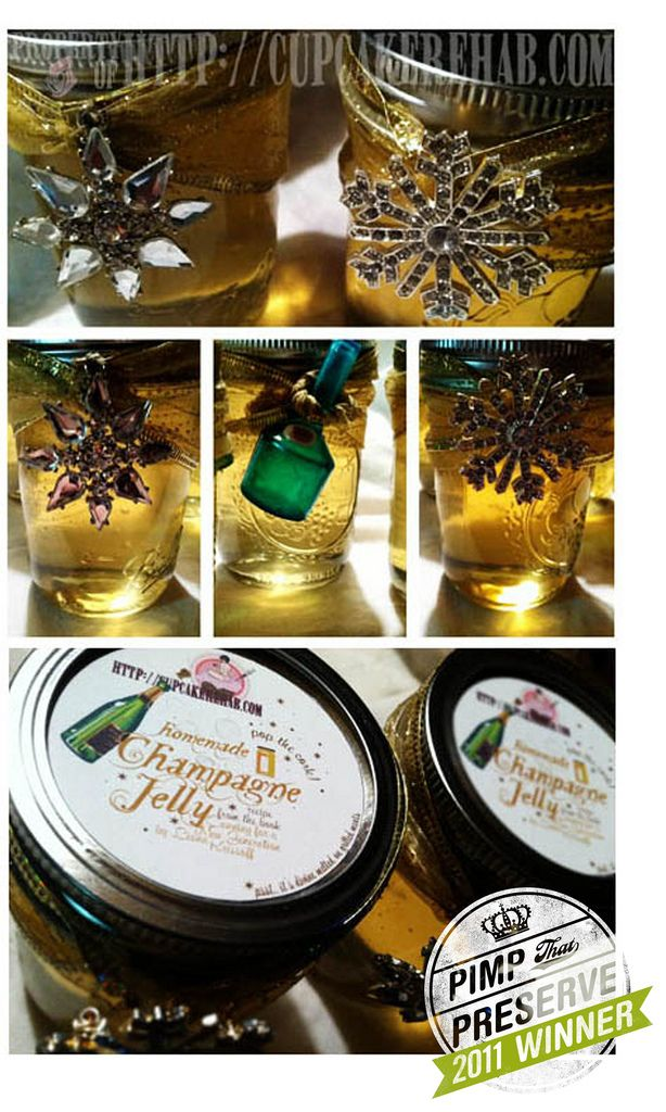 Champagne Jelly | Canning Creations | Pinterest