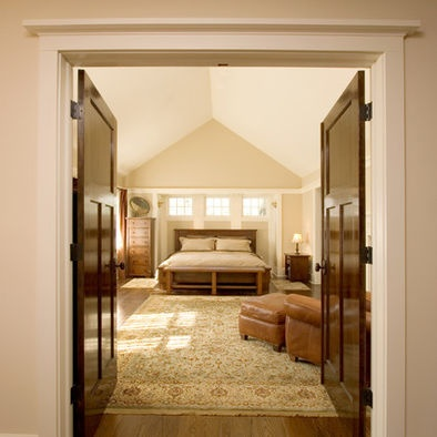 love the double doors into the master bedroom wish this was an