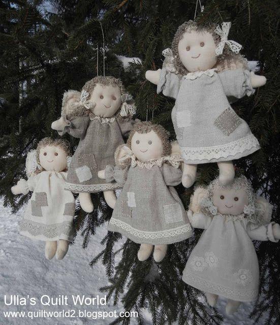 Уллы Одеяло мира: Ангел и картины, одеяло