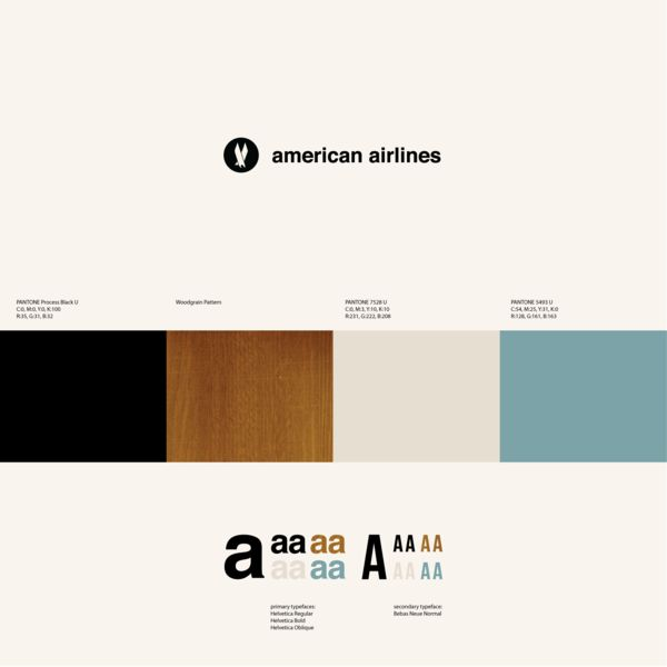 I don't know if I like how Victors and Spoils is setup (will have to learn more about it), but I like their awesome name and this dope american airlines identity: Experimental ID for American Airlines by Anna Kovecses, via Behance