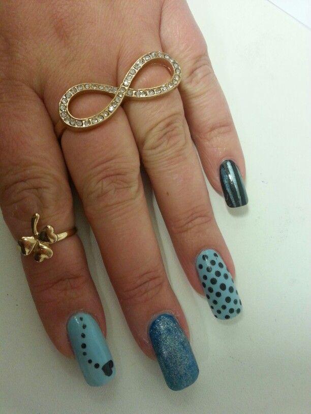 valentine nails design 2014