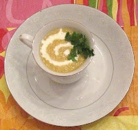 "The Foodie Next Door: ""Fire and Ice"" Cucumber and Cantaloupe Soup"