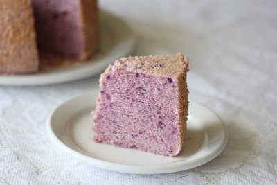 Purple Yam (ube) chiffon cake | Kirbie's Cravings | A San Diego food ...