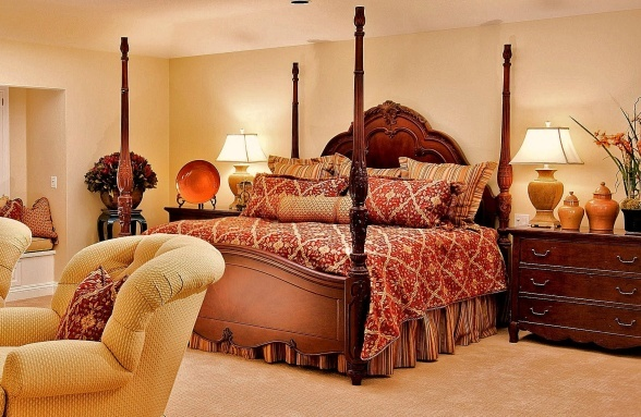 red and gold beautiful bedrooms pinterest