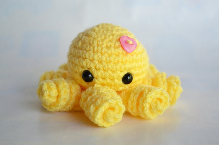 Amigurumi Octopus Anleitung : Amigurumi Octopus Crotchet Pinterest