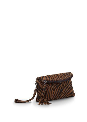 Rosette Suede handbags large