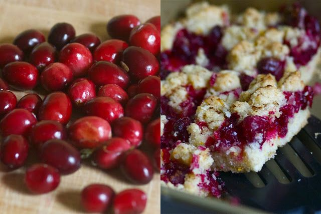Cranberry Crumb Bars | All Things Christmas | Pinterest