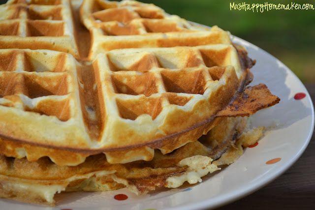 Brown Sugar Bacon Stuffed Waffles | Yum | Pinterest