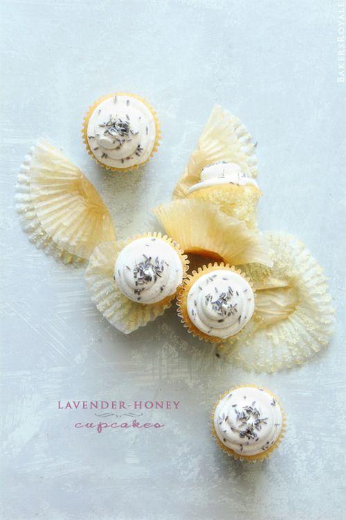 lavender honey cupcakes | Let's Eat! | Pinterest