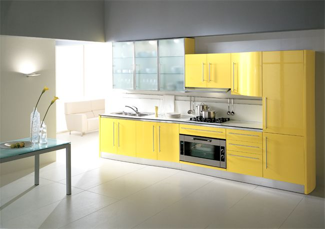Yellow cabinets  Yellow1  Pinterest