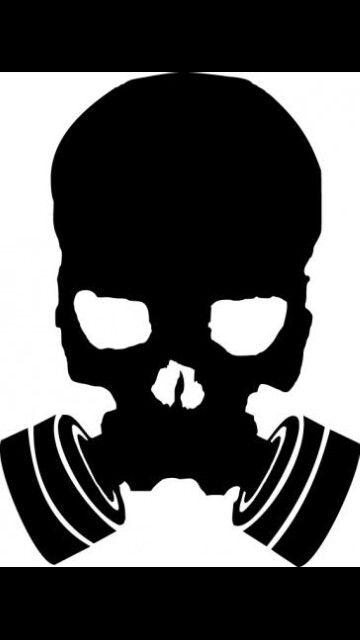 Gas mask skull skulls amp skeletons pinterest