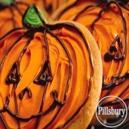 Jack-O'-Lantern Cookies from Pillsbury® Baking
