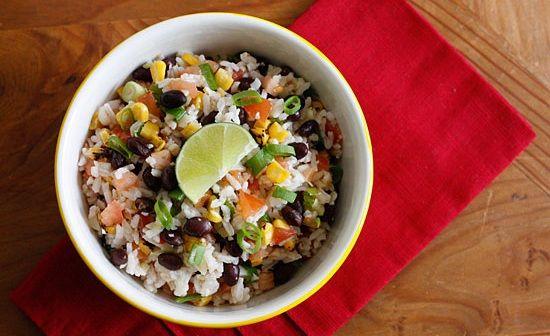 Fiesta Lime Rice | Plant based recipes | Pinterest