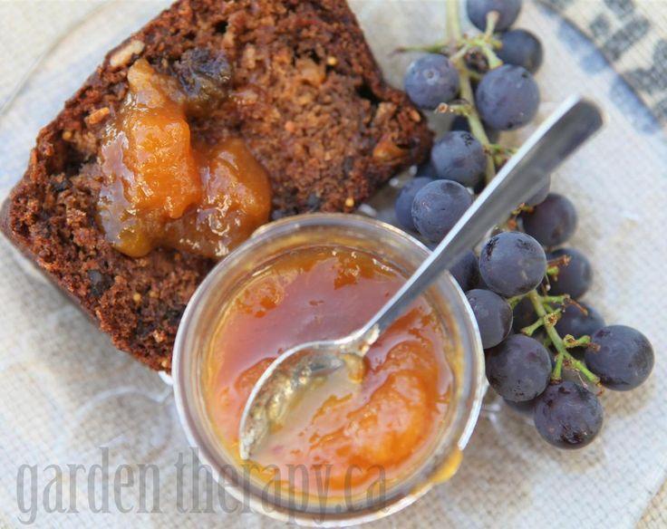 ... Peach Jam - I made some to go on pound cake with whipped cream - yum