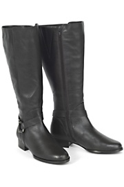$119.99 - Women's Wide Shaft Leather Riding Boots.  Save a bunch on these great fall boots!