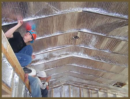 Check In Your Attic To See If There Is A Vapor Barrier