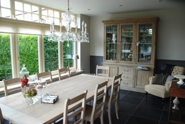 Keuken Erker : erker met zicht op tuin. Door dandelie Home Dining room Eetkame