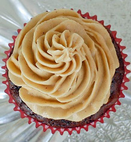Fluffy Peanut Butter Frosting- tried it with Nutella and it is amazing ...