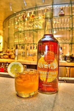 Firefly Sweet Tea Vodka, mix with Dairy Barn's Lemonade