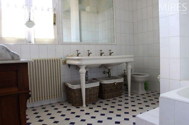 Applique salle de bain retro de bain retro salle bains for Salle bain retro