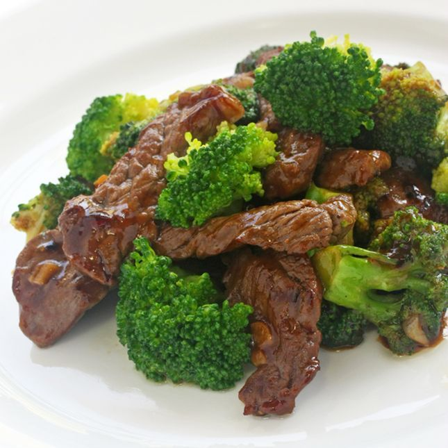 Skinny Beef and Broccoli Stir-Fry | Ferrari's Food | Pinterest