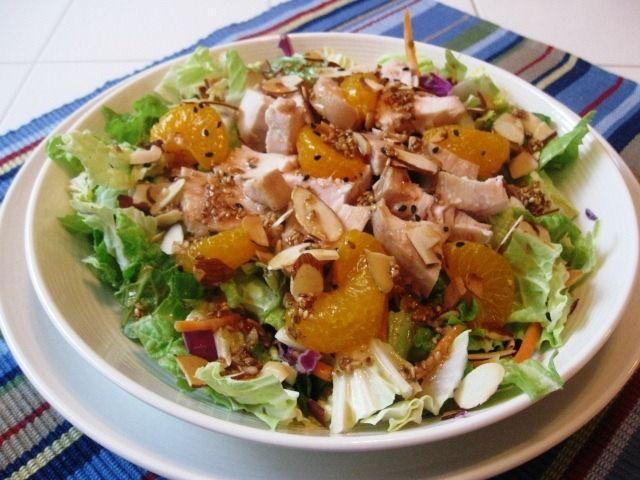healthy ellie krieger Chinese Chicken Salad recipe