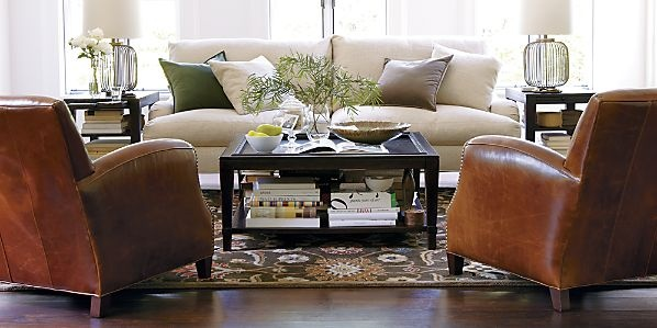 Living Room By Crate And Barrel Home Ideas Pinterest