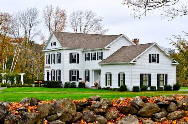 New England Country Home Dream Home Pinterest