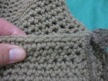 Crochet Stitches Meladora : Ruffle Bag - Meladoras Creations Free Crochet Patterns & Tutorials