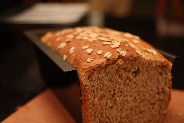 Whole Wheat Honey Oatmeal Bread | Breads and Dinner Rolls | Pinterest